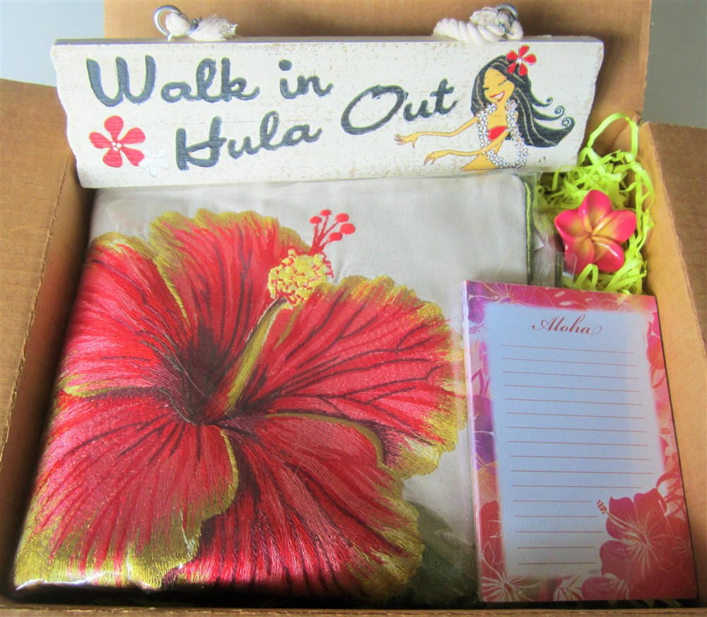 """island home (""""hibiscus - red"""")"""