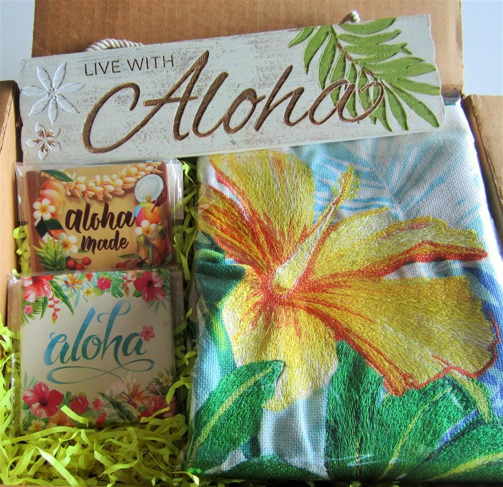 "island home (""lauren roth - monstera hibiscus"")"