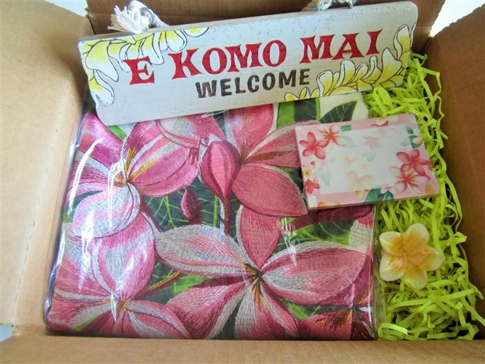"island home (""plumeria - pink"")"